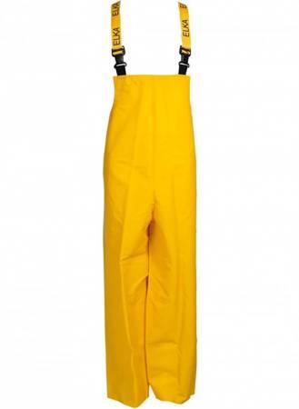 Spodnie PVC z szelkami